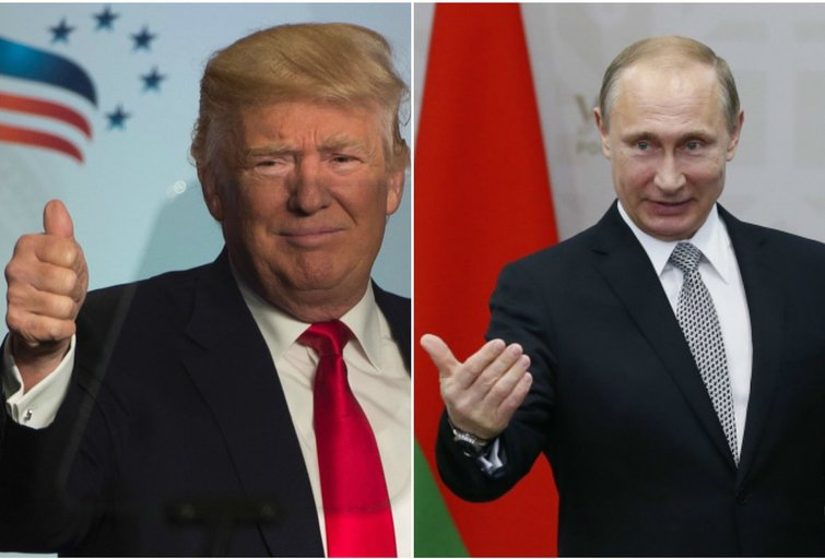 Edwardas Lucasas: ar Donaldas Trumpas yra Rusijos agentas? (nuotr. SCANPIX) tv3.lt fotomontažas