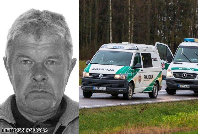 Rastas policijos ieškoto vyro kūnas (nuotr. Policijos)