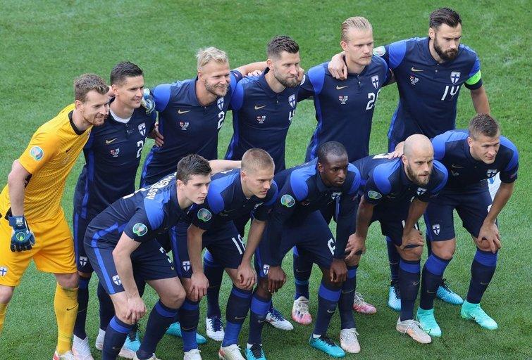 Suomijos futbolo rinktinė (nuotr. SCANPIX)