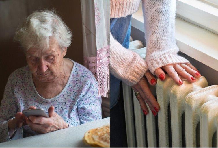 Širdį verianti istorija: sugedus radiatoriams senoliai namus turėjo šildytis įsijungę orkaitę (tv3.lt fotomontažas)