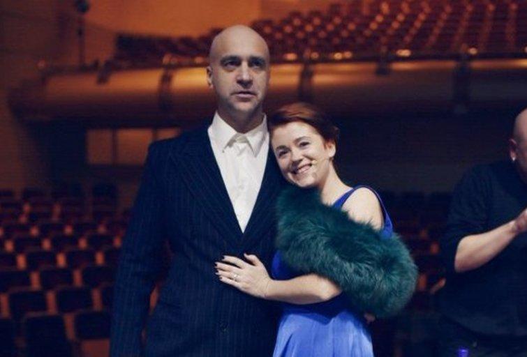Algis Ramanauskas-Greitai, Erika Jennings (nuotr. Jurgio Didžiulio)