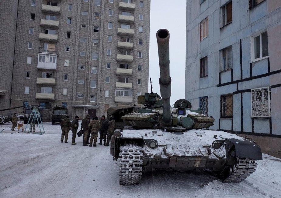 Ukraina prašo pagalbos: Rusijos puolimas tęsiasi (nuotr. SCANPIX)