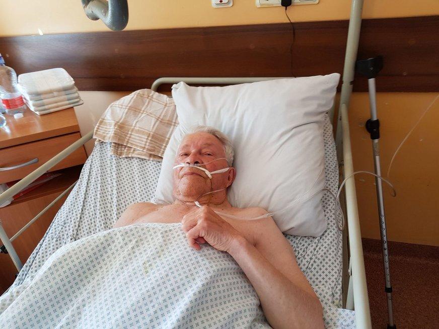 Pacientas Jonas Labinas (Zitos Katkienės nuotr.)