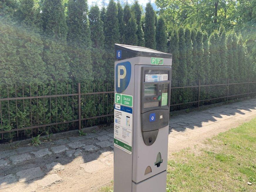 Parkavimas Palangoje