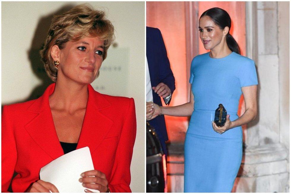 Princesė Diana ir Meghan Markle