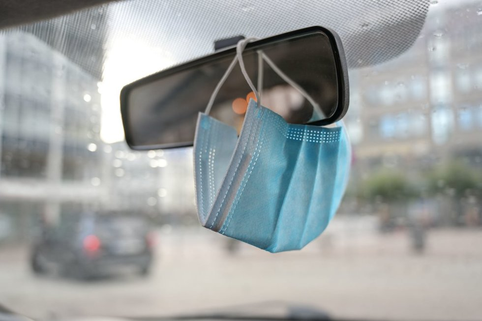 Kaukė automobilyje