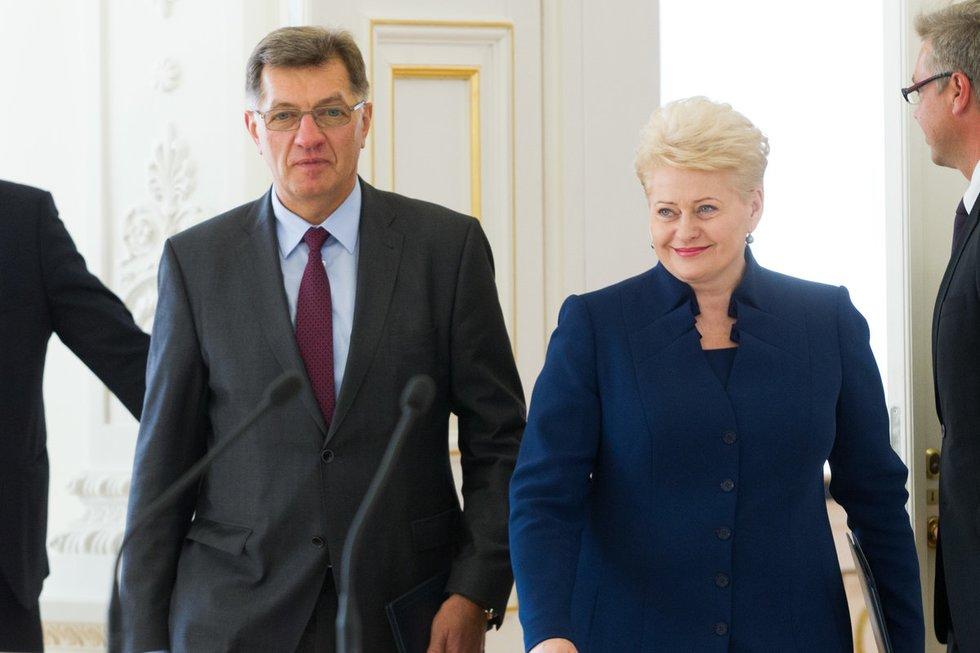 Algirdas Butkevičius ir Dalia Grybauskaitė