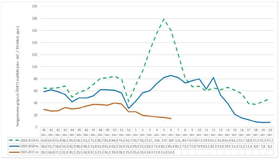 Sergamumas gripu (Nuotr. NVSC)