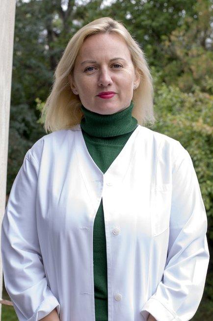 Psichiatrė psichoterapeutė Rasa Ruseckienė. Nijolės Zenkevičiūtės nuotr.