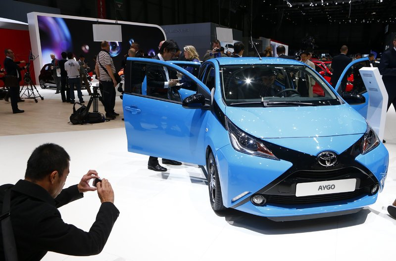 """""""Toyota Aygo"""" (nuotr. Reuters)"""