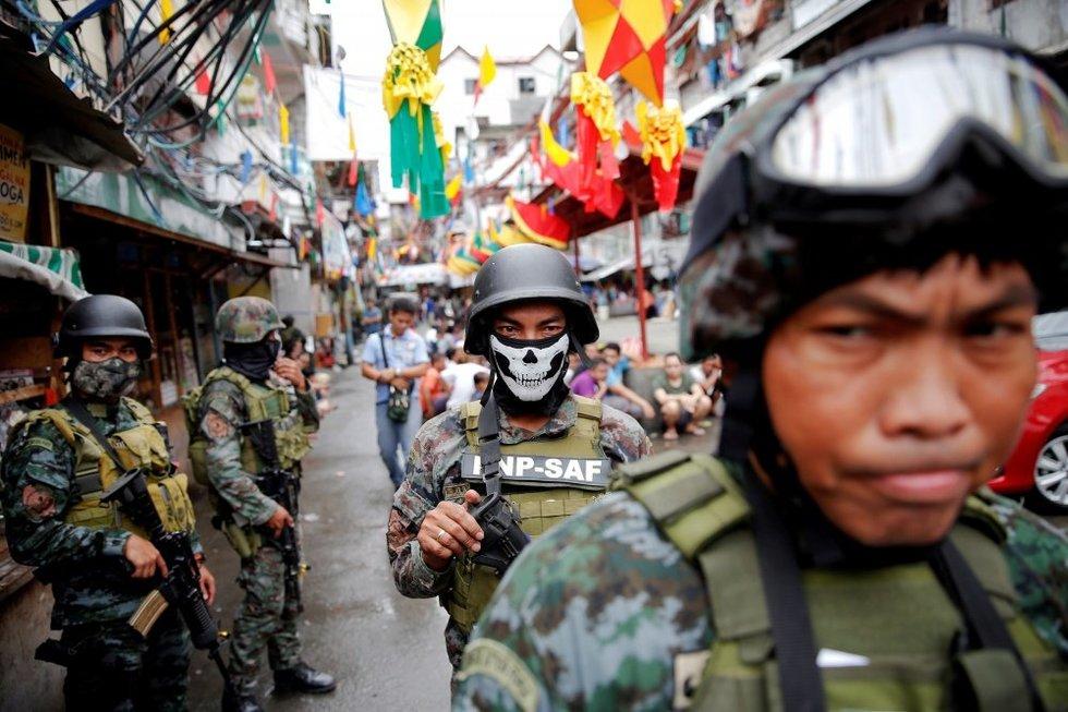 Bekompromisė kova su narkotikų prekeiviais Filipinuose (nuotr. SCANPIX)