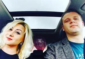 Sandra Žutautienė su vyru Edvardu