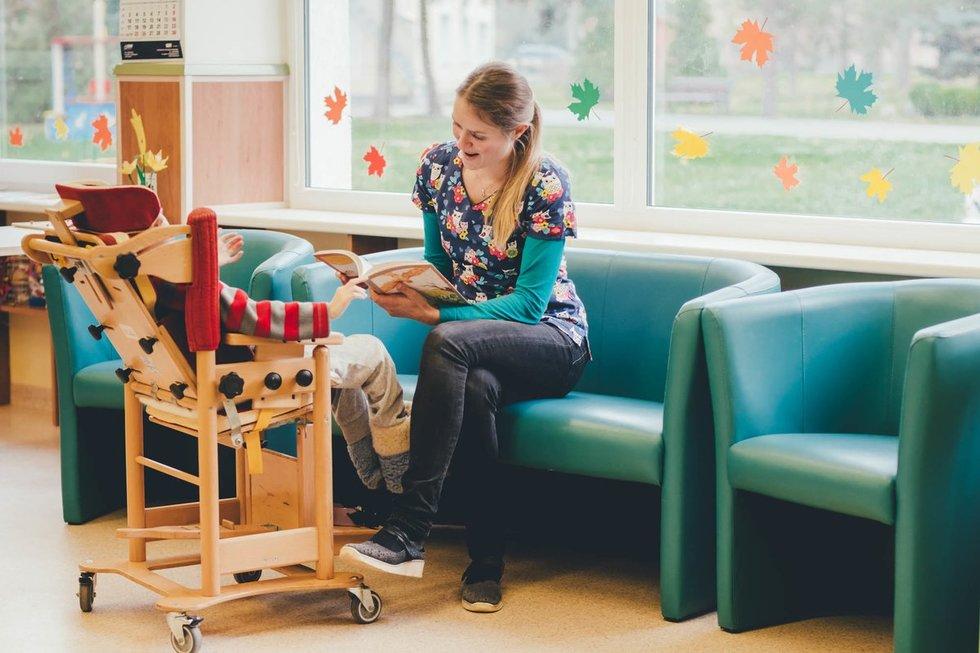 Teikiant atokvėpio paslaugas atsižvelgiama į vaikų poreikius. Klaipėdos sutrikusio vystymosi kūdikių namų archyvo nuotr.