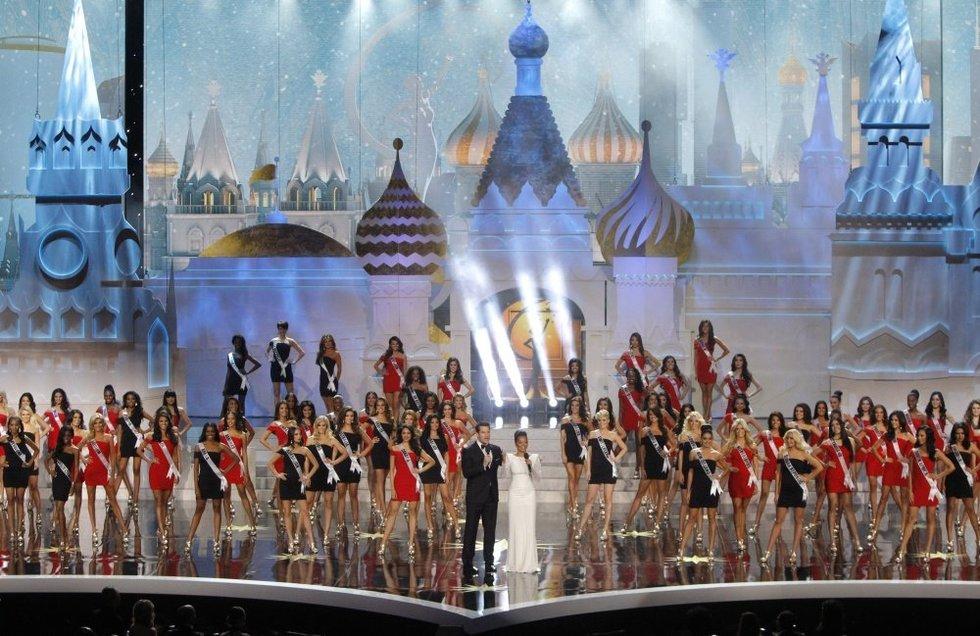 Miss Visata konkursas Maskvoje, 2013-ieji (nuotr. SCANPIX)