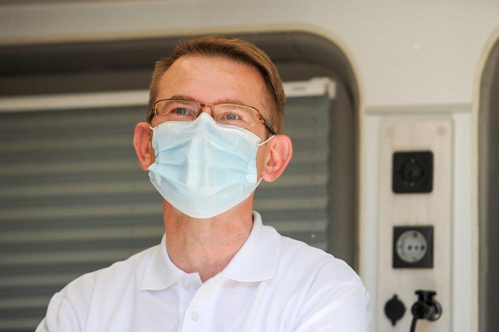 """Arūnas Dulkys gavo antrą """"AstraZeneca"""" skiepą"""