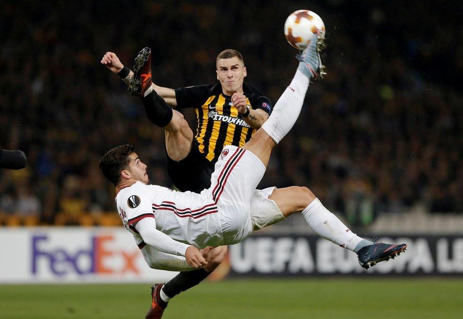 "Atėnų AEK – ""Milan"" (nuotr. SCANPIX)"