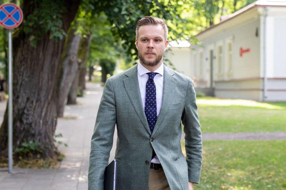 Gabrielius Landsbergis (Irmantas Gelūnas/Fotobankas)