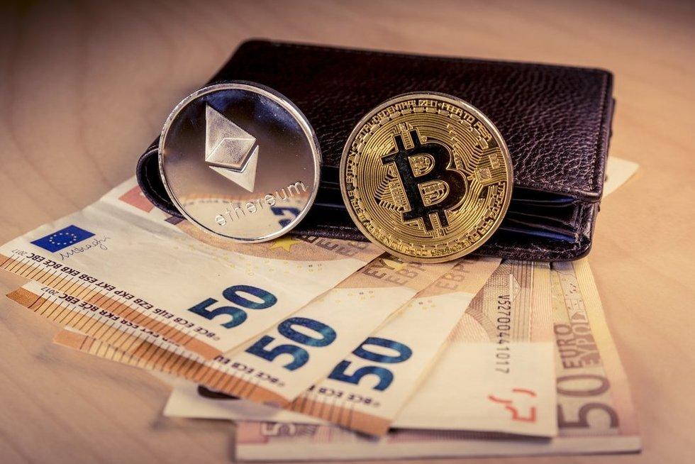 Kriptovaliutos (nuotr. 123rf.com)