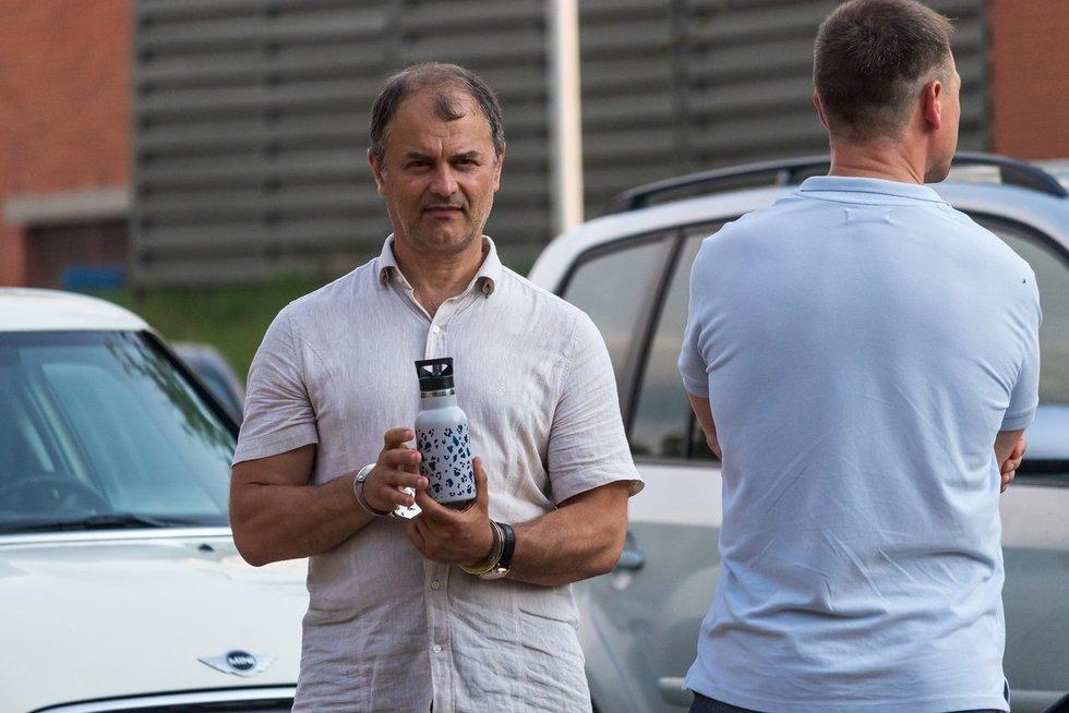Vilniuje sulaikytas verslininkas Sergejus Rachinšteinas (nuotr. Broniaus Jablonsko)