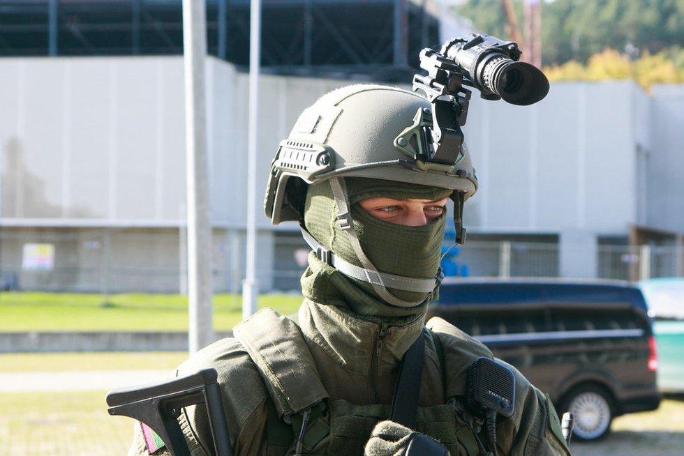 Karinės ginkluotės ir technikos paroda (nuotr. Tv3.lt/Ruslano Kondratjevo)