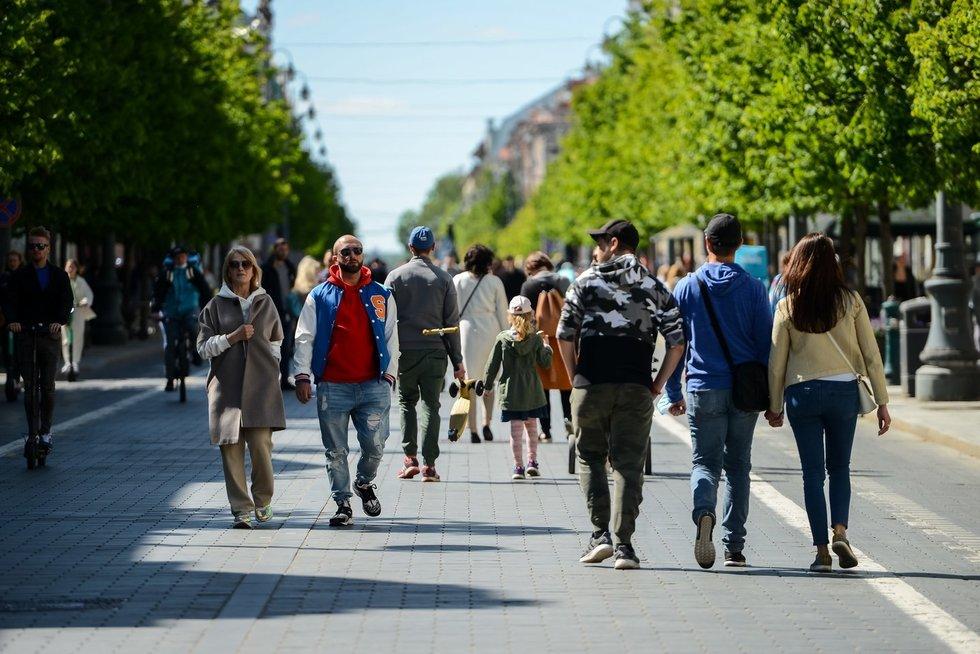 Laisvalaikis sostinėje (K. Polubinska/fotodiena.lt nuotr.)