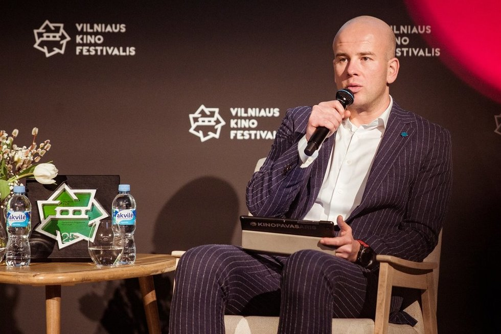 """""""Kino pavasario"""" spaudos konferencija (Nuotr. Audrius Solominas ir Tautvydas Stukas)"""