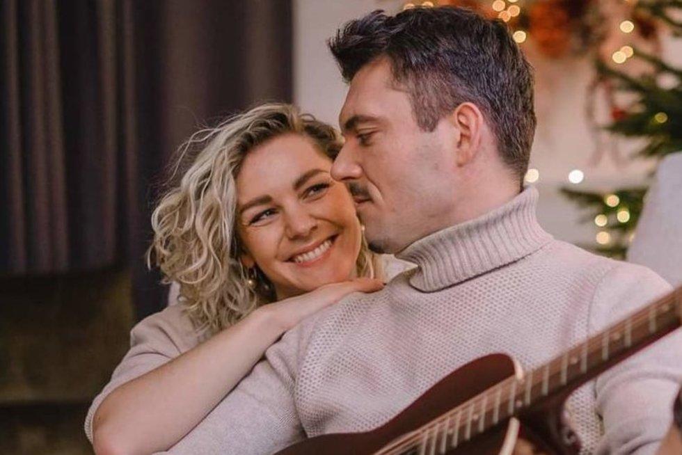 Liucina Rimgailė su vyru Tadu (nuotr. asm. archyvo)