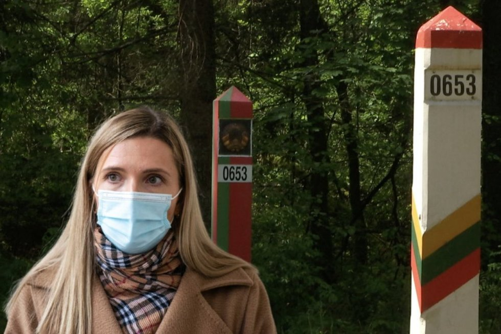 Bilotaitė: Lietuvos sieną padės saugoti ir tarptautiniai partneriai (tv3.lt fotomontažas)