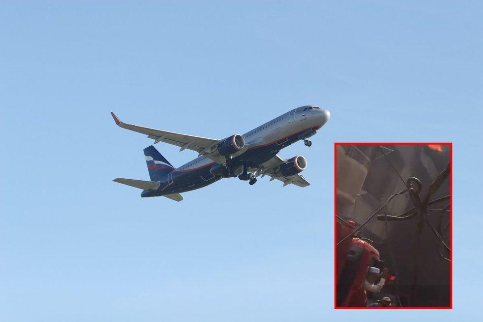 Pakistane sudužo keleivinis lėktuvas: juo skrido 91 žmogus (nuotr. SCANPIX) tv3.lt fotomontažas