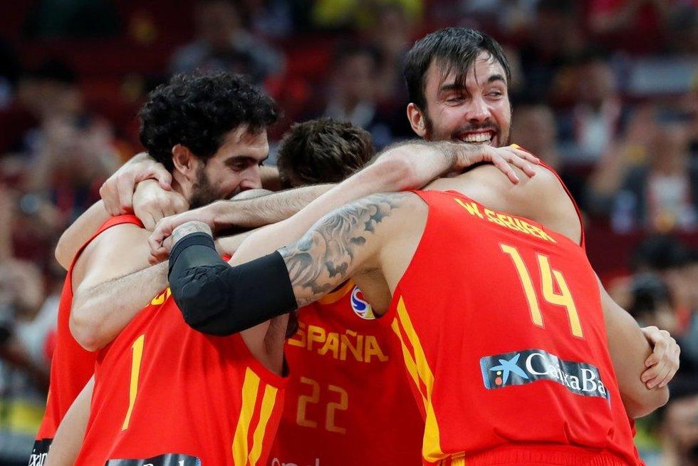 Argentina-Ispanija akimirka (nuotr. SCANPIX)