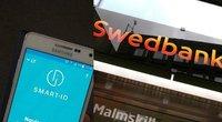 """Dažniausia """"Swedbank"""" klientų alternatyva –""""Smart ID"""" programėlė (tv3.lt fotomontažas)"""