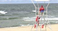 Smiltynės pajūrys (nuotr. stop kadras)
