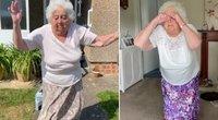 88-erių senolės šokiai tapo interneto hitu: tai daryti pradėjo karantino metu