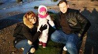 Į Lietuvą po 5 metų emigracijos sugrįžusi šeima (nuotr. asm. archyvo)