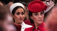 Meghan Markle ir Kate Middleton (nuotr. SCANPIX)
