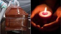 """28-erių sūnų palaidojusi mama meldžia skiepytis: """"Padarykite tai dėl savęs"""" (tv3.lt fotomontažas)"""