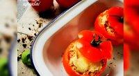"""Tunu įdaryti pomidorai (nuotr. """"Samčio užrašai"""")"""