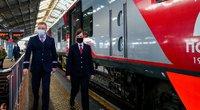 Rusijos traukinys (nuotr. SCANPIX)