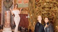 Kim Kardashian Romoje (nuotr. Instagram)