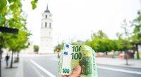 Pinigai (nuotr. Fotodiena/Justino Auškelio)