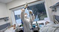 COVID-19 ligoninės stebi ketvirtosios bangos pradžią: sunkiausi pacientai – neskiepyti, jau rengiasi skyrių (nuotr. Vidmanto Balkūno)