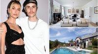 Justin Bieber ir Hailey Baldwin naujas namas (tv3.lt fotomontažas)