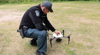 Dronas (nuotr. Policijos)