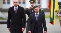 Ukrainos ir Lietuvos prezidentų susitikimas Lietuvoje (nuotr. Fotodiena/Matas Baranauskas)