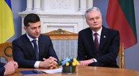 Ukrainos ir Lietuvos prezidentų susitikimas Vilniuje (nuotr. Fotodiena/Matas Baranauskas)