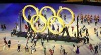 Tokijo olimpinių žaidynių atidarymo ceremonija (nuotr. SCANPIX)