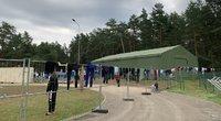 Druskininkų užkardos migrantų stovykla (nuotr. tv3.lt)