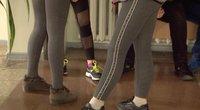 Panevėžyje mergaičių muštynės mokykloje: septintokei lūžo nosis (nuotr. stop kadras)