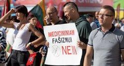 Karščiausi neramumų Vilniuje kadrai ir sulaikymai: keletas sulaikytųjų – gerai žinomi veikėjai ir propagandistai