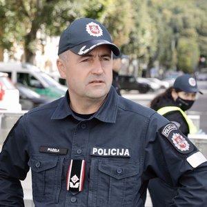 Generalinis policijos komisaras perspėja: jei bus neteisėti organizavimai, provokavimai judėti, policija to neleis